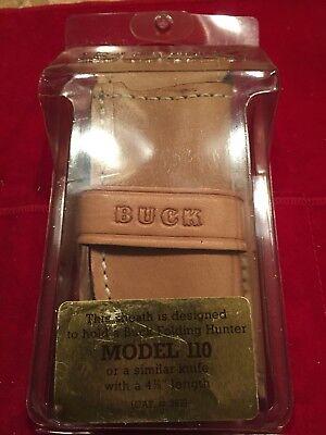 Buck 110 Custom Sheath In Factory Package