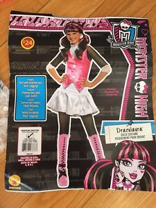 Costume Halloween fille MonsterHigh Draculaura