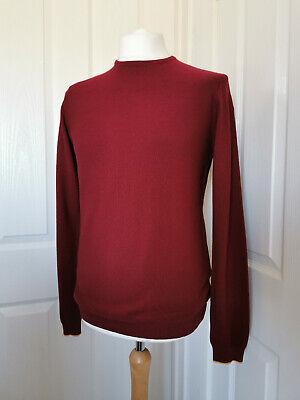 Kin by John Lewis Men's Merino Wool Crew Neck Sweater / Jumper - Small (RRP £50)
