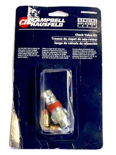 Campbell Hausfeld Check Valve Kit 3 Fittings Air Compressor GR001600AJ USA Made