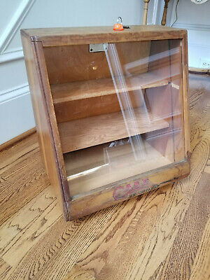 CaseXX Vintage Cutlery Display Case Knives Knife Locking Wooden