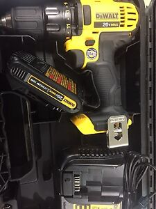 Brand New Dewalt Drill 20V + Case