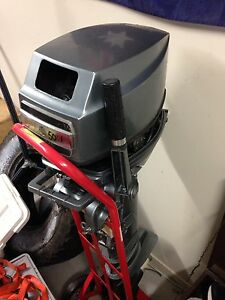 28HP outboard motor McDowall Brisbane North West Preview