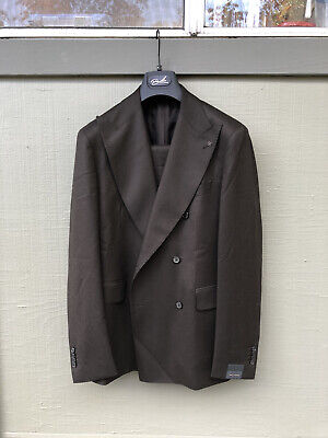 Tagliatore Suit 40R Double Breasted New With Tags : Suitsupply Style Italian