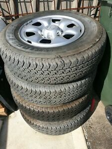 As new Hilux Wheels and Tyres