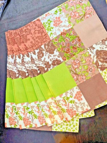 (6) PATCHWORK QUILT PLACEMATS - Set of 6 - BRAND NEW SEALED SET OF SIX