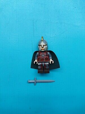 Lego Lord of Rings Hobbit Minifigure Eomer w/ Sword 9471 Rider of Rohan!