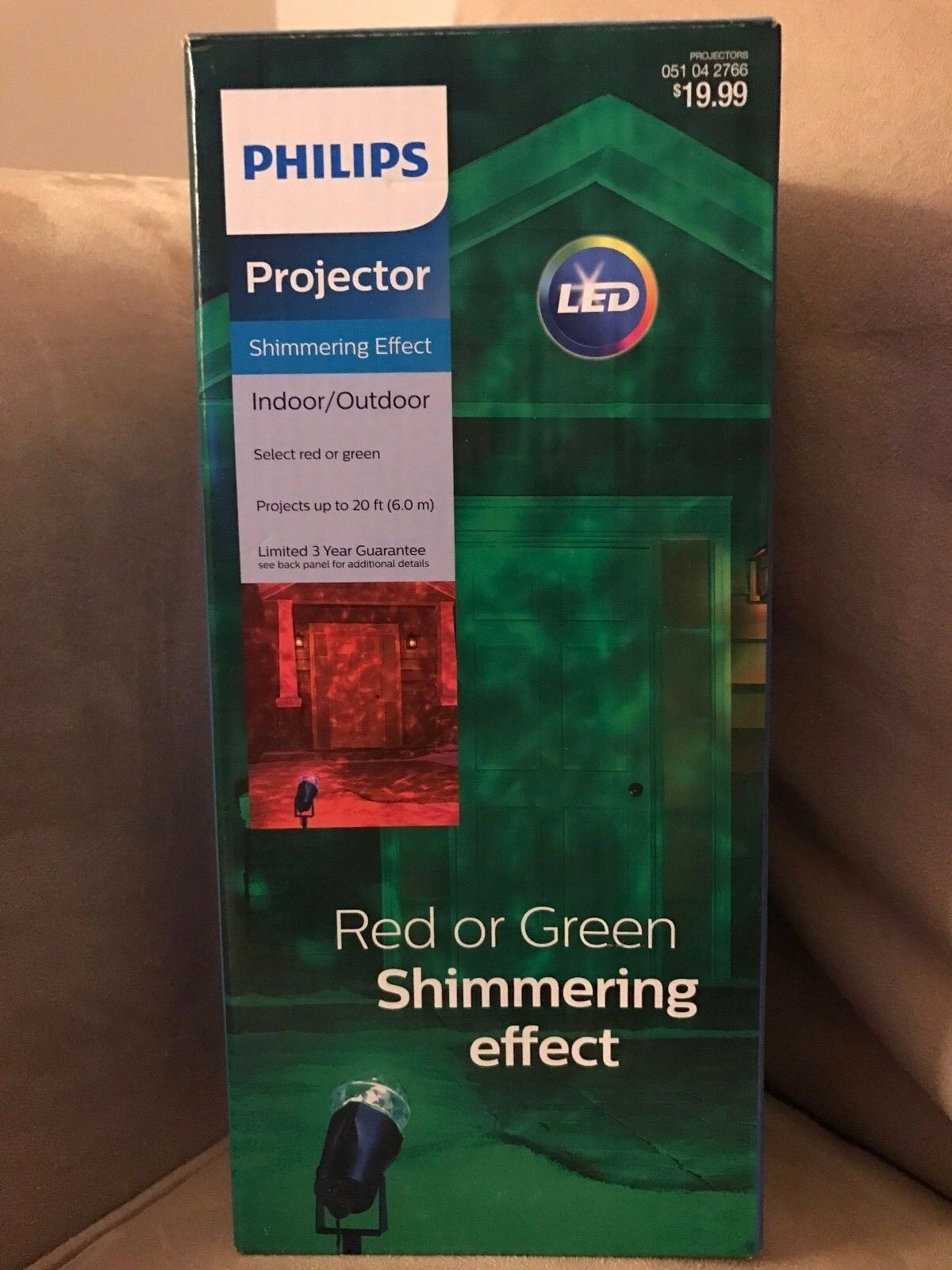 Philips Red/Green Shimmering Effect LED Motion Light Project
