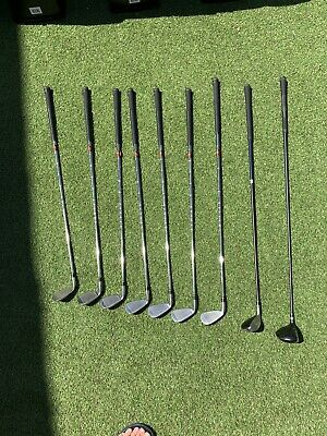 Nike SQ Irons 4-PW, NDS Sumo Driver 9.5, 3 NDS Wood & 4h Slingshot.