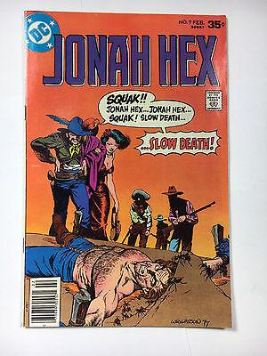 Jonah Hex #9 F+  DC comic 1978 Wrightson