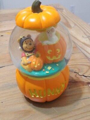 Disney Winnie The Pooh Musical Halloween Snowglobe ](Halloween Snowglobes)