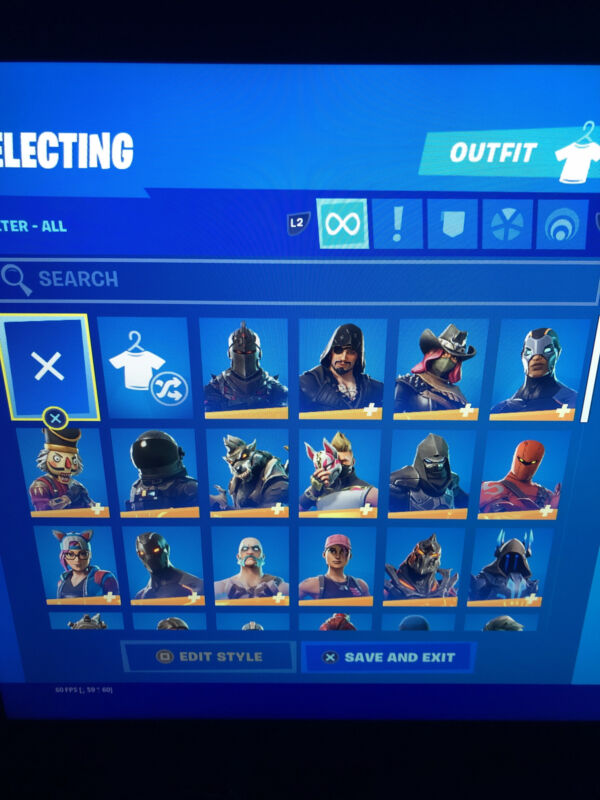 Fortnite Account 70+Skins (Includes Black Knight)