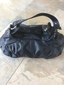 David Lawrence leather handbag