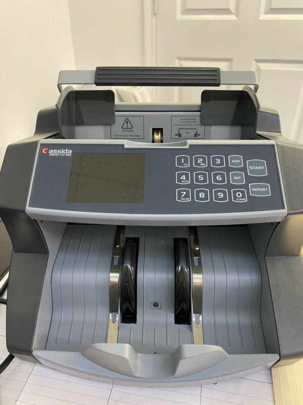 Cassida 6600 Business Grade Money Bill Value Counting Machine Ultraviolet (UV)