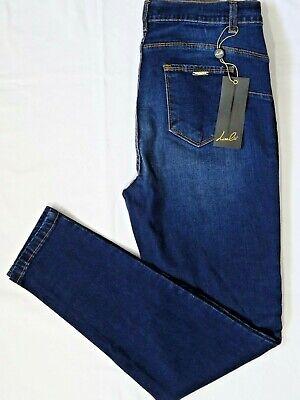 Jeans donna push up vita alta elasticizzati