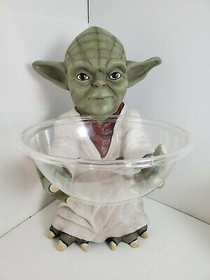 Halloween Cubicle Decoration (Yoda Candy Bowl Holder Star Wars Office Cubicle Decoration BRAND NEW Ships)