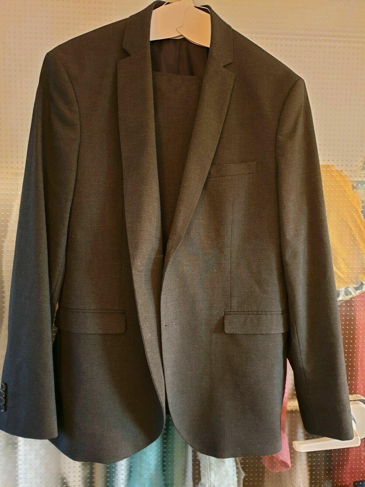 Jack & Jones Premium, Anzug, Herren, 52u. 54  Grau,  Slim fit, TOP !!!