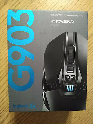 Logitech G903 Lightspeed Wireless Gaming Mouse Empty Box Only
