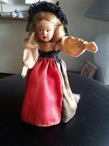 WIND UP GERMAN DOLL 1945 GOOD WORKING CONDITION ORIG.CLOTHING Willoughby Willoughby Area Preview