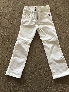 Esprit girls white pants size 5 Somerton Park Holdfast Bay Preview