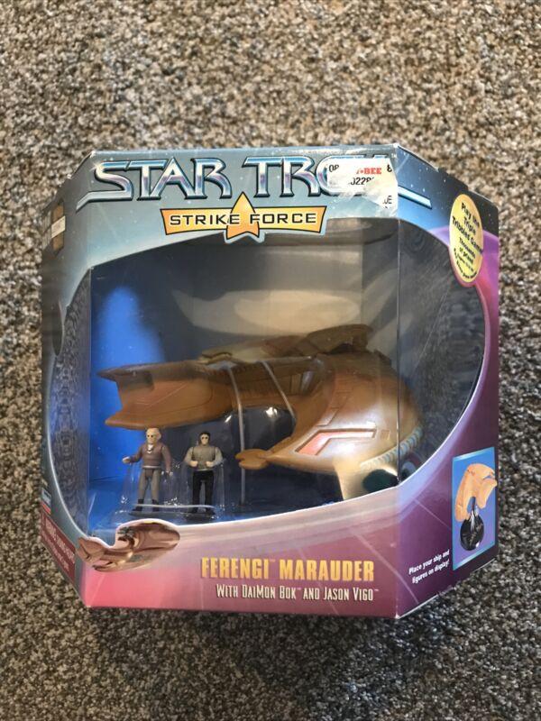 Star Trek Strike Force Ferengi Marauder With DaiMon Box And Jason Vigo