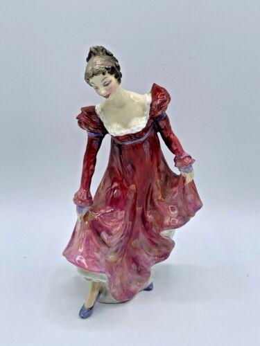"Royal Doulton ""Minuet"" HN2066- Bone China Figurine - Very Rare - 7.5"