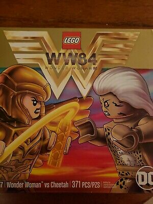 Lego DC Super Heroes Wonder Woman vs Cheetah Set #76157 Factory Sealed 371 Piece