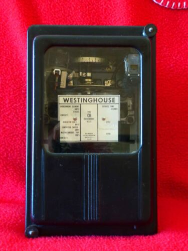Westinghouse Type CO Overcurrent Relay; Style N-824137
