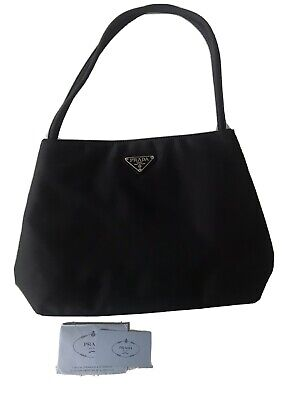 Nylon PRADA Milano Black Shoulder Bag Purse