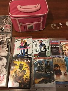 DVDs and a Box for Sale West Perth Perth City Area Preview
