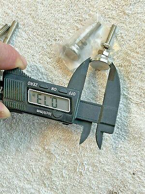 Lot4 Nickel Swivel Leveling Mount Dia 34 X 1.5 H Bsw-00n Level-it Brand