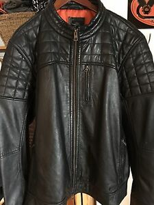 Men's Harley Davidson Leather Jacket - Size XXL