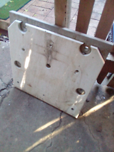 Jacking plate, solid alloy for transom East Ipswich Ipswich City Preview