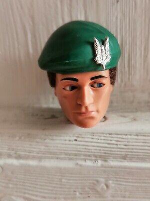 VINTAGE Action Man SAS Commander green beret GI Joe
