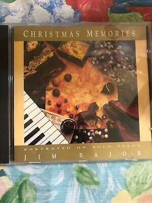 Christmas Memories by Jim Bajor On Solo Piano ~ CD ~ FREE Shipping USA ()