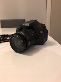 Canon EOS 600 D Bundle - *Excellent Condition!*