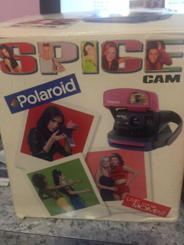 Spice Girls Polaroid Camera Rare W/ Box