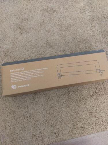 "Totcraft Baby Bed Rail White 35.5"" x 19.5"""