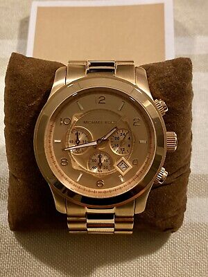 Michael Kors MK8096 Oversized Watch **Near Mint Condition** Needs New Battery