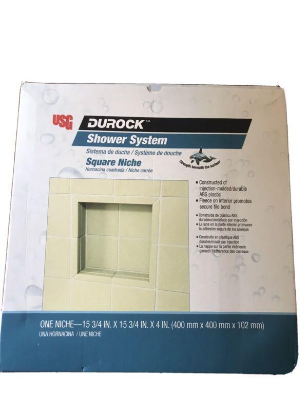 USG Durock Shower System Square Shower Niche
