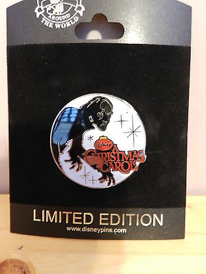 DISNEY STORE  ONLINE A CHRISTMAS CAROL MOVIE PIN LIMITED EDITION OF 250 SCROOGE - Online Christmas Stores