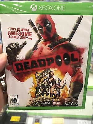 Microsoft Xbox One Deadpool- New In Sealed Package
