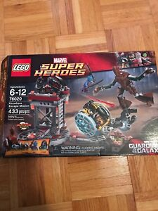 Used Guardians of the Galaxy LEGO *missing figure*