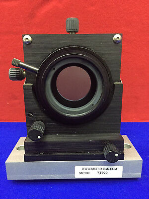 Xyz Xy Lens Positioner 50.8 Mm Diameter. Model Lp-2. Used.