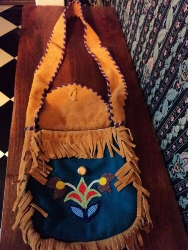 beaded bag native vintage