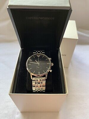 mens emporio armani Classic Watch (used)