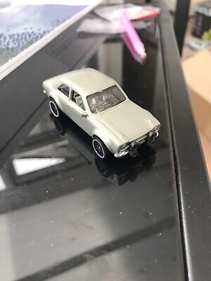 Hot Wheels 1970 Ford Escort RS1600 Gold Custom Painted