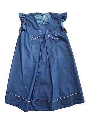 Genuine Fendi Girl's Denim Dress (Size 6)