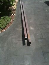 Galvanized, powder coated square metal tubes x 2 Bonnyrigg Heights Fairfield Area Preview