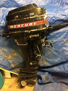 7.5 hp Mercury outboard motor